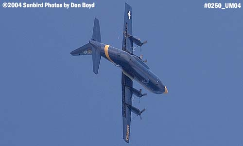 USMC Blue Angels C-130 Fat Albert military aviation air show stock photo #0250