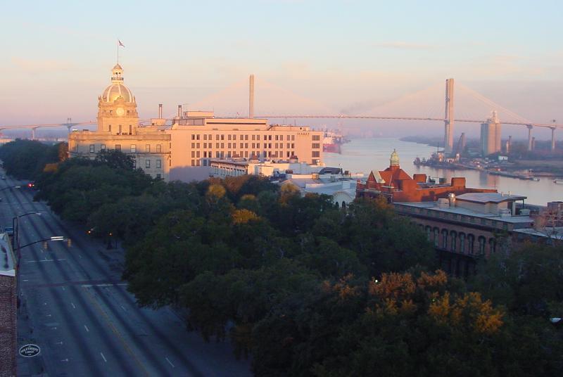 Savannah at sunrise