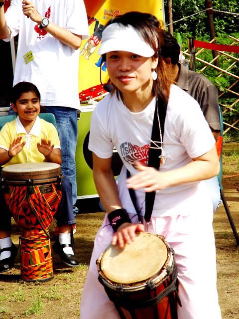 Tribal Drummer Leader