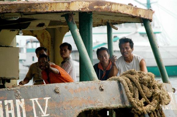 The crew of the Andrian IV, Sunda Kelapa