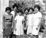 Six of the Earliest Residents/Students at Ramallah Home and School