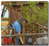 Farmer at Wild Seed Farms, Fredericksburg, TX