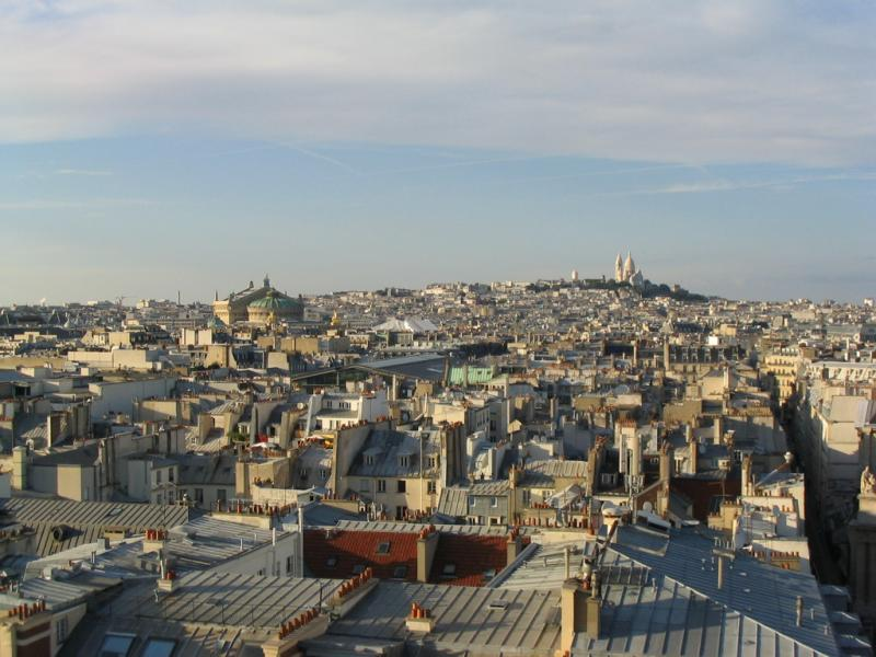 Montmartre and the Opéra Garnier