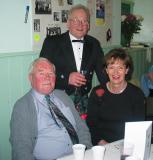 David, Ian and Winnie