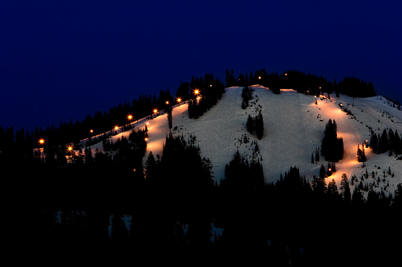 Night Skiing!
