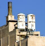 Industrial skyscape, Long Beach, Ca