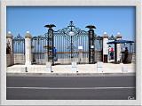 Bahai Garden's Gate.