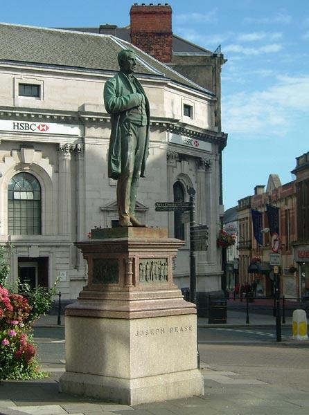Pease Statue