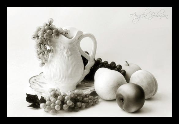 <b>Fruit Still Life</b><BR> <i>by Angela Johnson</i>