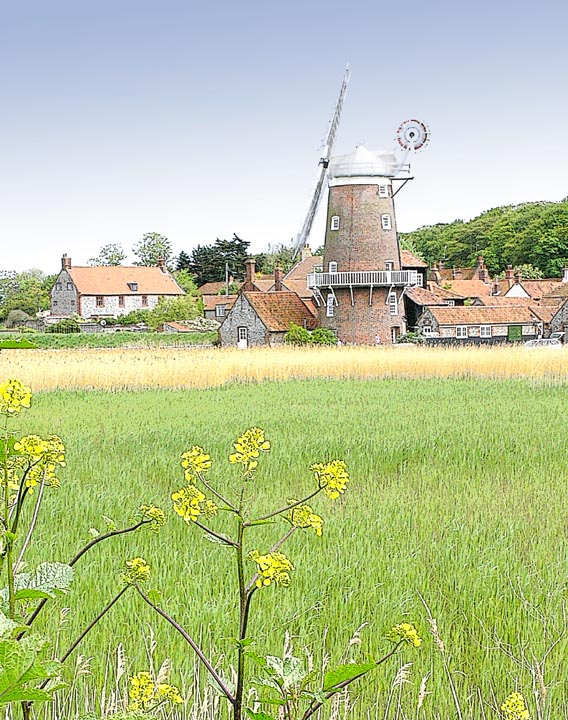 Cley Mill, Norfolk, UK.