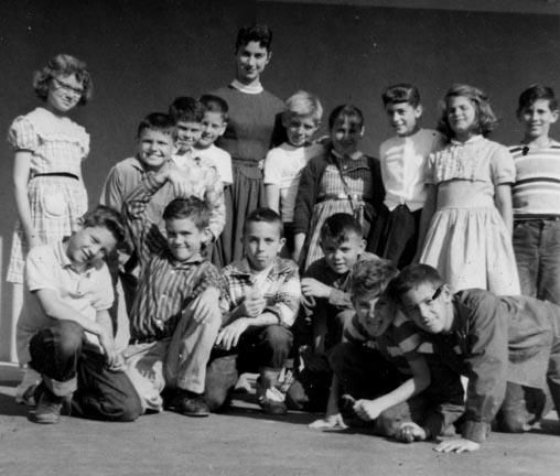 Kids and Student Teacher