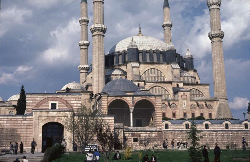 Edirne Selimiye overview
