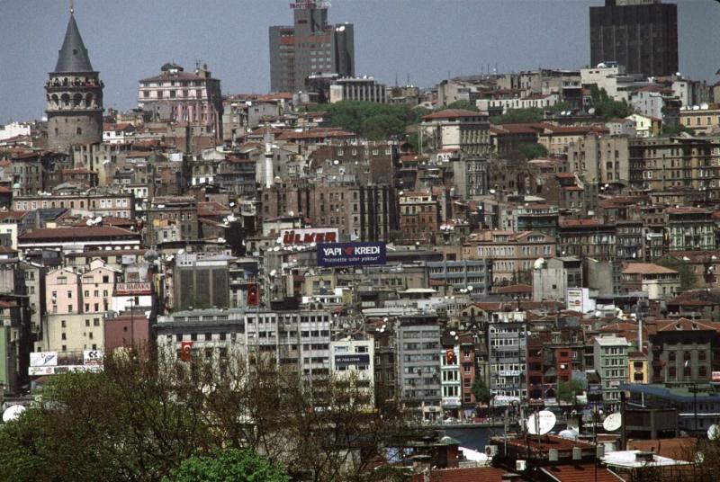 Istanbul view galata tower tele 1