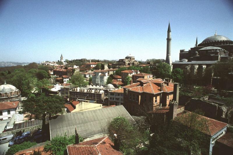 Istanbul view hagia sophia 1