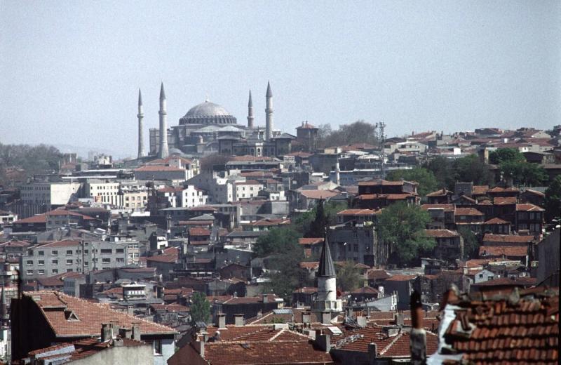 Istanbul view hagia sophia 2