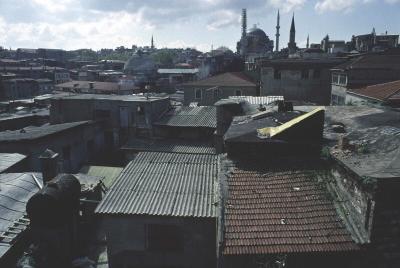 Istanbul from Han with Nurosmaniye b