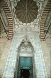 Edirne Selimiye entrance from court