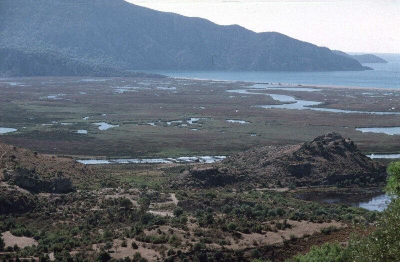 Dalyan view of delta with dalyans 1b.jpg