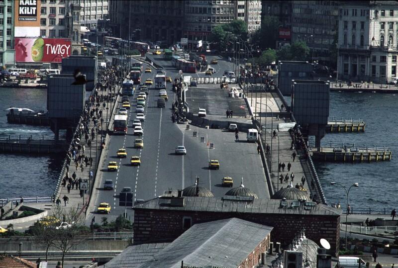 Istanbul Galata Bridge tele 1