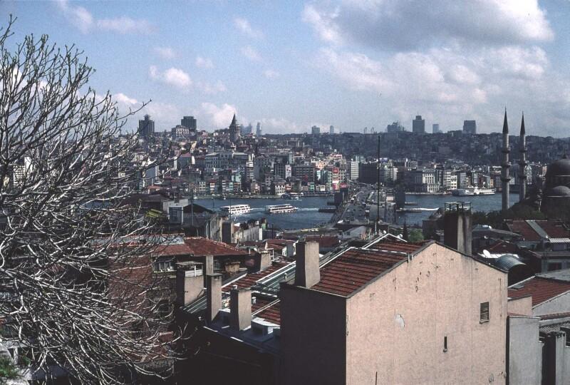 Istanbul Galata Bridge wide 1