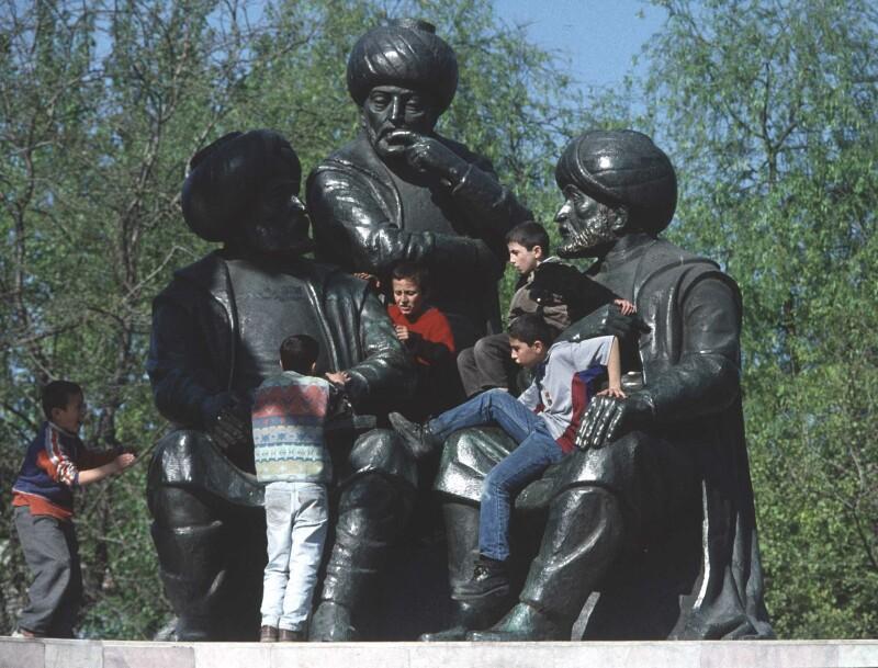 Istanbul Mehmet monument 1