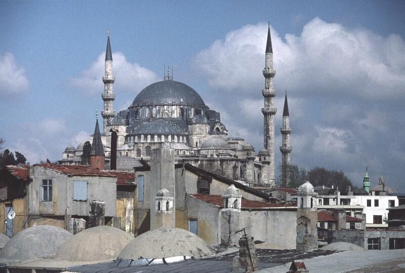 Istanbul from Han Suleymaniye b