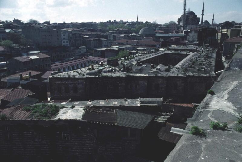 Istanbul from Han with Nurosmaniye 2