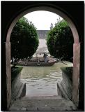 Archway to the canal