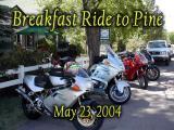 Breakfast Ride to Pine AZ, May 23, 2004