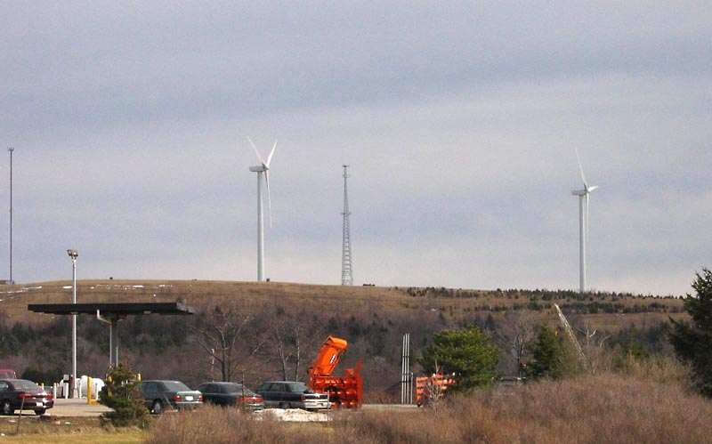 Wind Power near Somerset