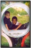 Niños en Tortuguero