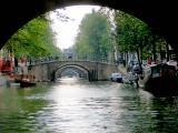 BRIDGES OVER AMSTERDAM CANAL