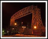 Lift Bridge at Night