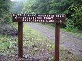 Well marked signage along the whole trail