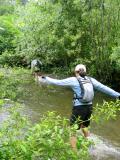 Crossing Deep Creek