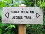 Squak Mt. Access Trail