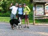 The end of our adventure!  Red Town Trailhead