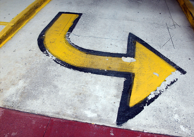 Yellow Arrow 1