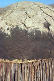 Hut Detail - Sticks, Mud & Dung