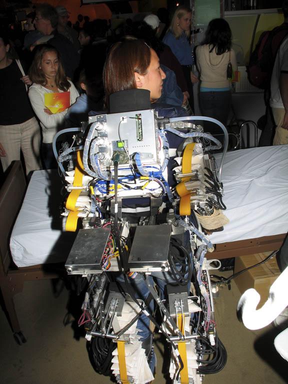 Air-powered Exoskeleton