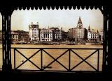 Old photo of the Bund (Waitan)