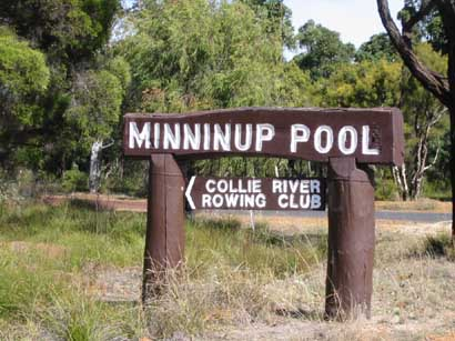 Road sign to... yup Minninup Pool.JPG
