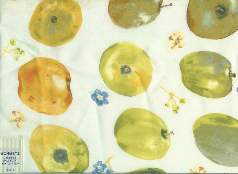 Apple Print Rayon Georgette