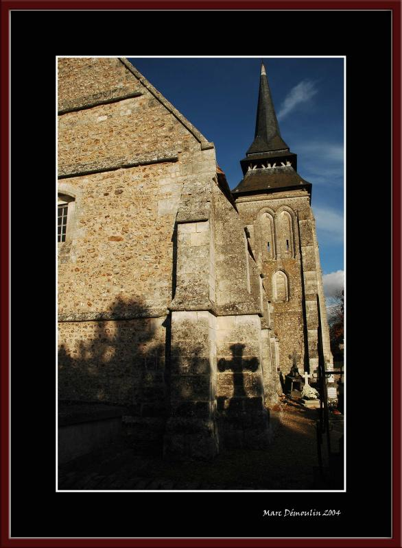 Le Plessis Ste Opportunes church