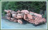 Underground rock loader.