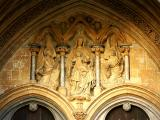 Tympanum, Salisbury Cathedral