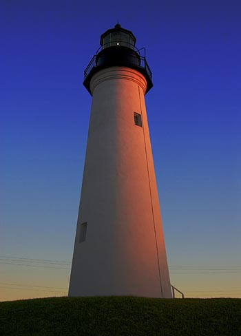 Port Isabel Lighthouse at Dusk 5596