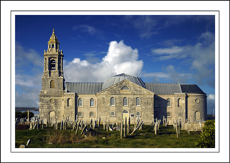 Church and graveyard, Portland, Dorset
