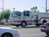 fire truck on call in Mesa Arizona