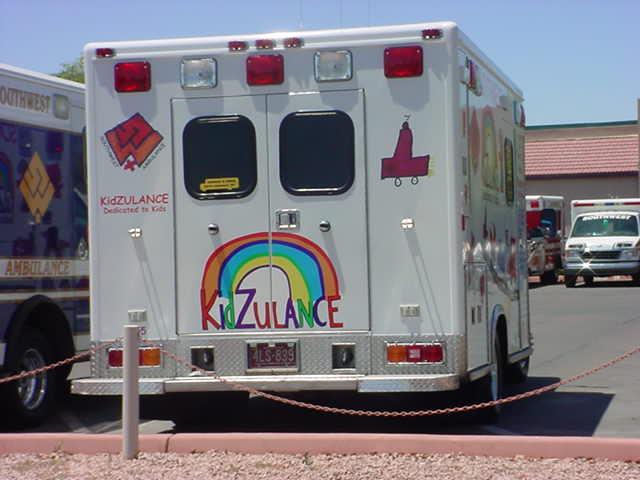 ambulance in<br>Mesa Arizona